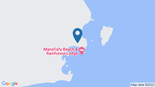 Manafiafy Beach & Rainforest Lodge  Map