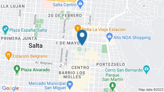 Casa Real Map