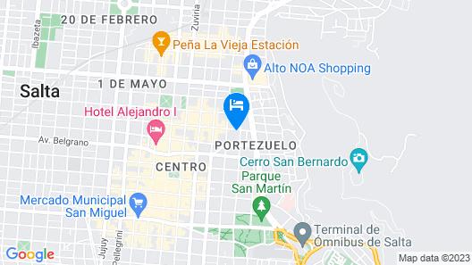 Mirador de Salta House Map