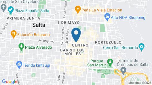 Alejandro I Hotel Map