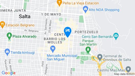 Balcón de la Plaza Map