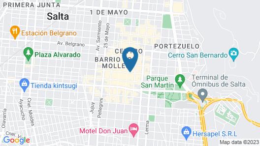 Hotel Posada Del Sol Map