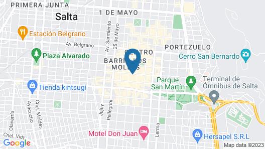 Ferienhaus Hostel Salta Map