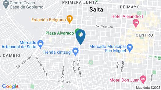 Departamento Urquiza Map