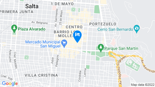 Hotel Marilian Map