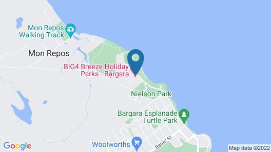 BIG4 Breeze Holiday Parks - Bargara Map