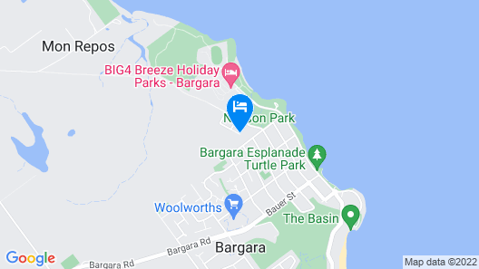 Koola Beach Apartments Bargara Map