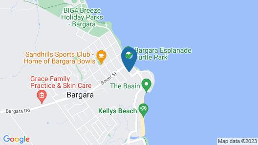 Bargara Gardens Motel & Holiday Villas Map
