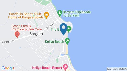 Sandcastles on the Beach Bargara Map