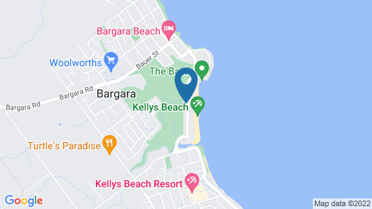 Don Pancho by the Beach Map