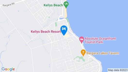 Kellys Beach Resort Map