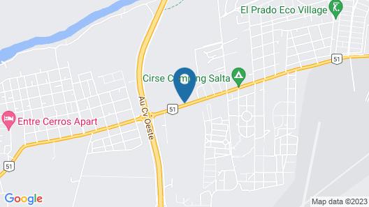 Posada El Prado Map