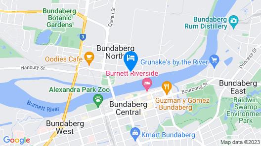AAOK Riverdale Caravan Park Map