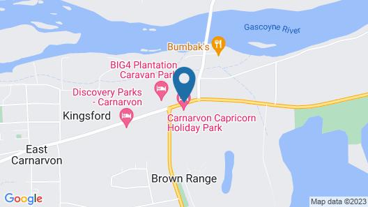 Capricorn Holiday Park Map