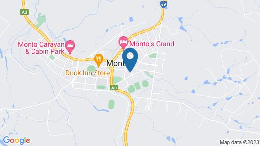 Monto Colonial Motor Inn Map