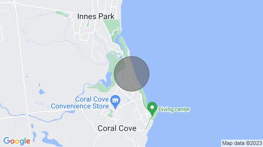 The Cove Oceanfront Studio - pet Friendly Map