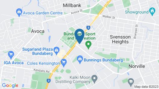 Alexandra Apartments Map