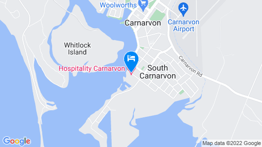 Hospitality Carnarvon, SureStay Collection by Best Western Map