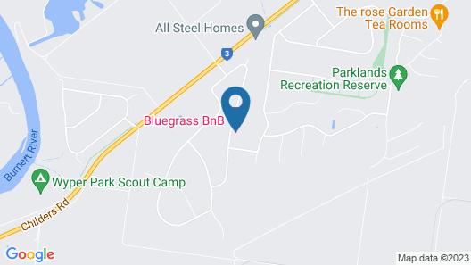 Bluegrass BnB Map