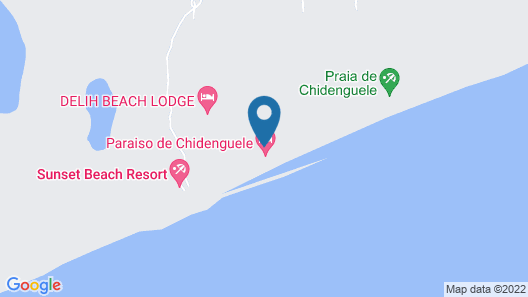 Paraiso de Chidenguele Resort Map