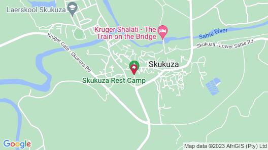 Kruger Park Tours Map