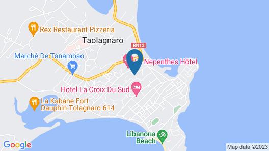 Hotel La Marina Map