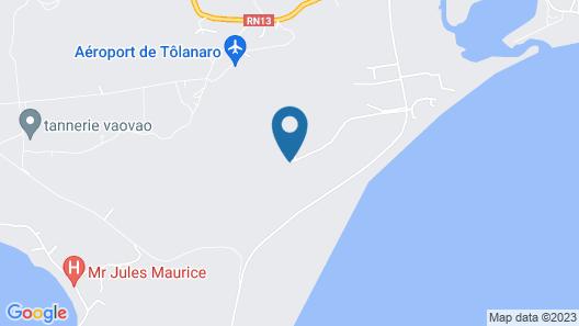 Andriambe Lodge Map