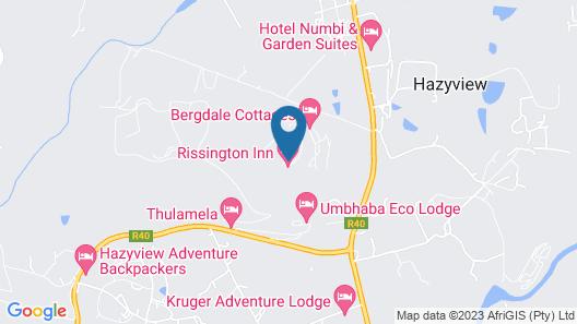 Rissington Inn Map