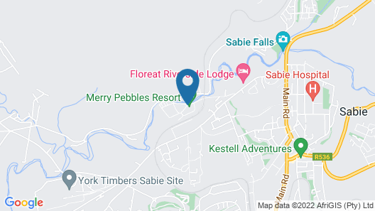 Merry Pebbles Resort & Caravan Park Map