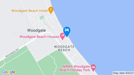 Woodgate Beach Houses Map