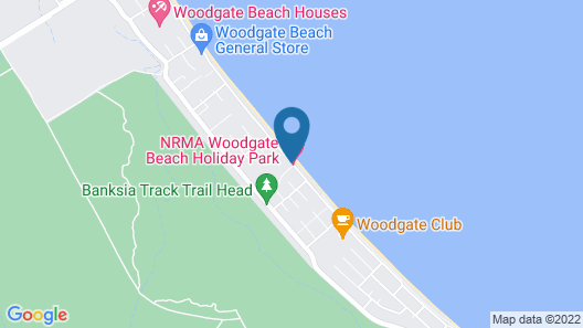 NRMA Woodgate Beach Holiday Park Map