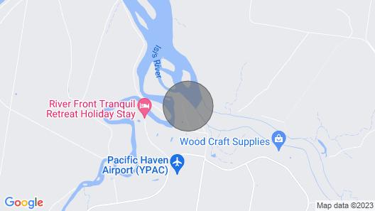 Burrum River Boat House - Pacific Haven - Riverfront - 2BR Map
