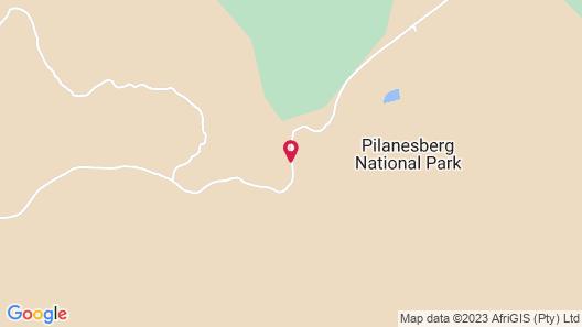 Tshukudu Bush Lodge Map
