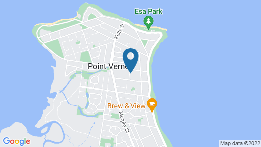 Big4 Point Vernon Holiday Park Map