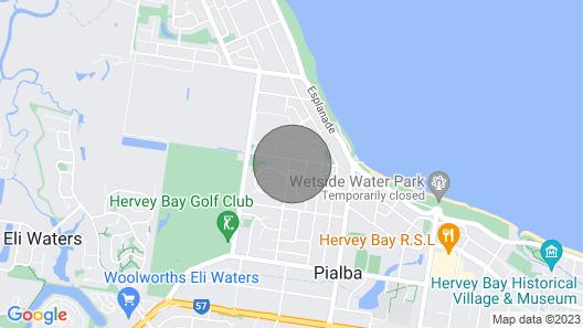 Duk 'n' Willa Beach Cottage Map