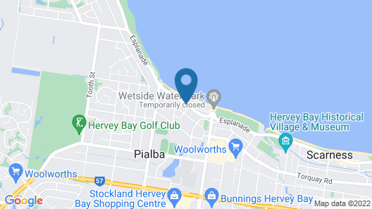Hervey Bay Resort Map