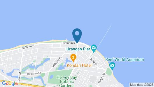 Aqua Aqua Luxury Penthouses Map