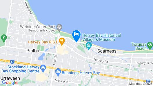 Best Western Ambassador Motor Lodge Map