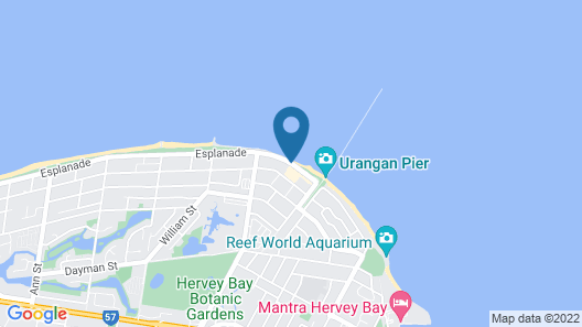 Santalina On Hervey Bay Map