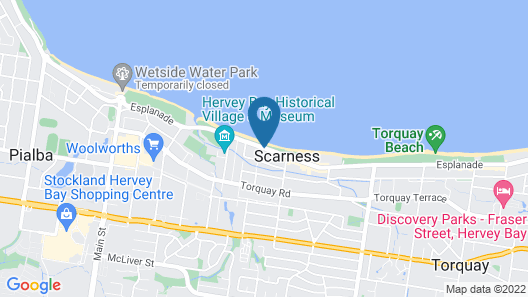 Coconut Palms On The Bay Map
