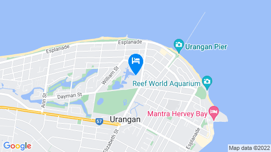Kondari Hotel Map