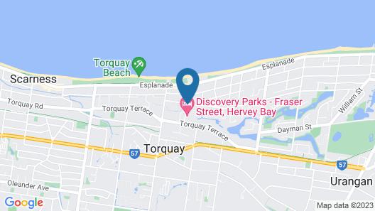 Discovery Parks - Fraser Street, Hervey Bay Map
