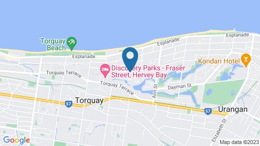 The Palms Hervey Bay Map