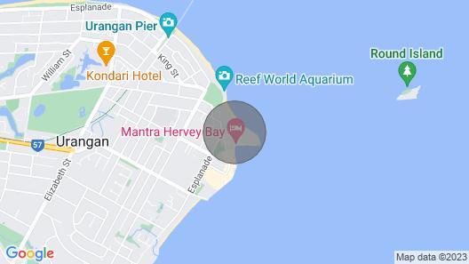 Holiday at the Marina - Hervey Bay Map