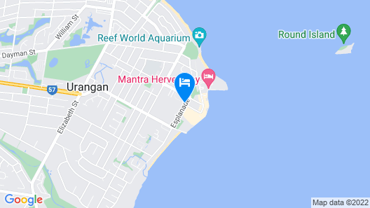 Ramada Hervey Bay Map