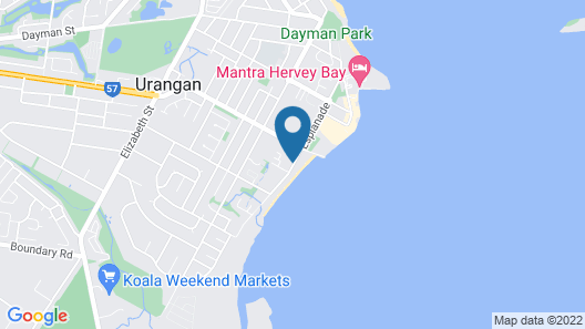 Boat Harbour Apartments Map