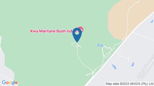 Kwa Maritane Bush Lodge Map