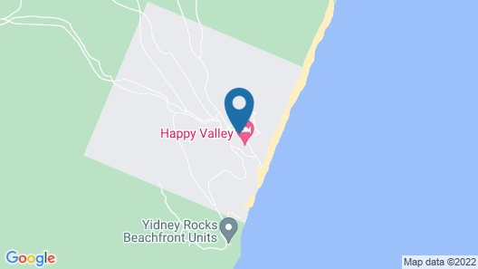 Fraser Island Retreat Map