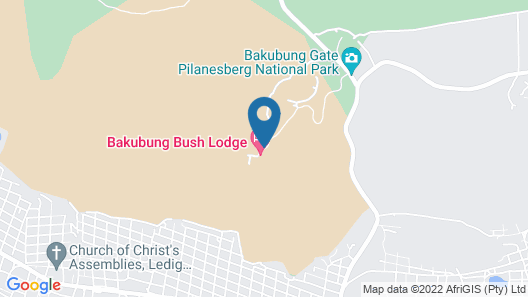 Bakubung Bush Lodge Map