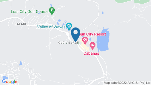 Bush Bungalows at Sun City Resort Map
